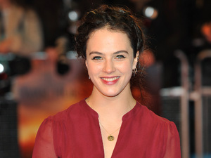 Downton Abbey's Jessica Brown Findlay arrives for the premiere of War Horse