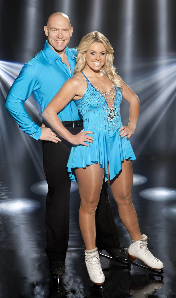 Britain's Top female Skier Chemmy Alcott who will be dancing with partner Sean Rice