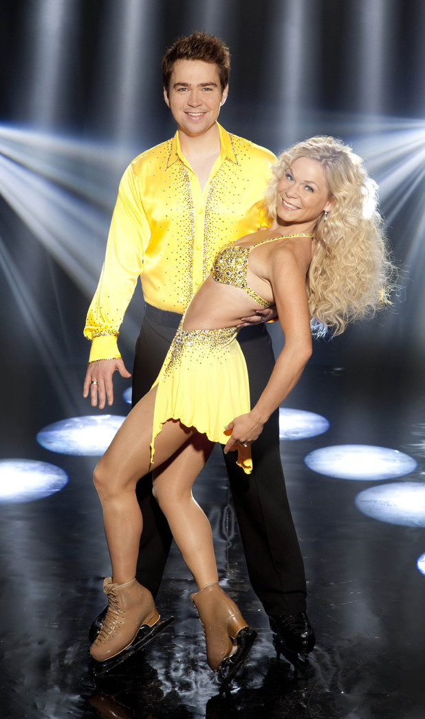 TV Presenter Sam Nixon who will be dancing with partner Alexandra Schauman