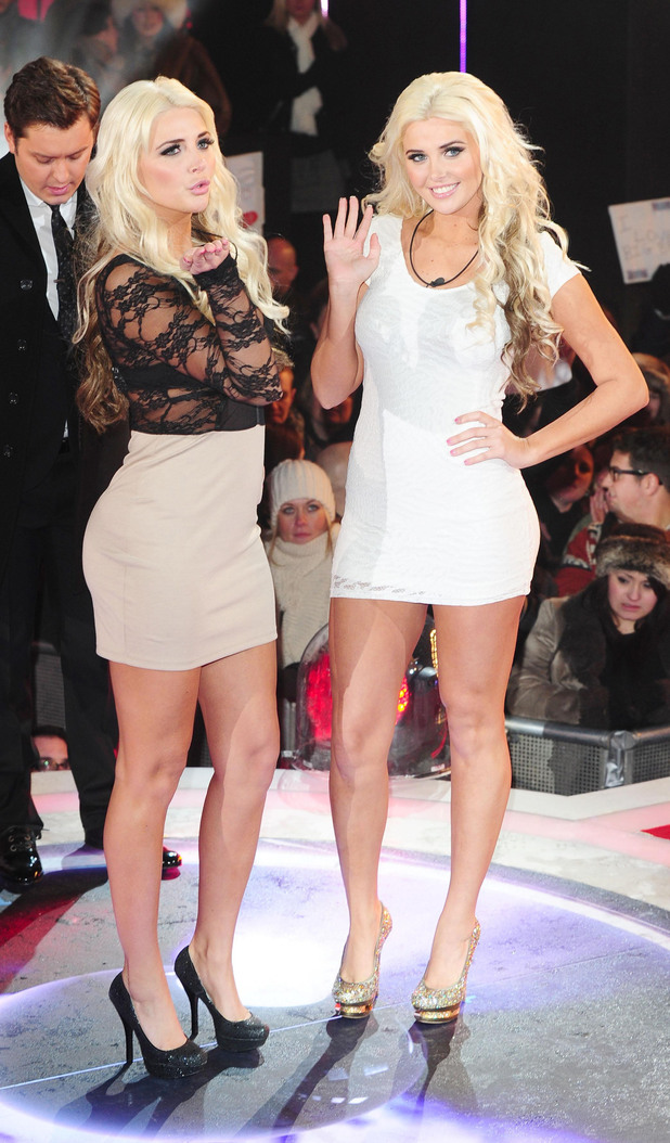 Kristina and Karissa Shannon are the fourth celebrities to enter the Big Brother House