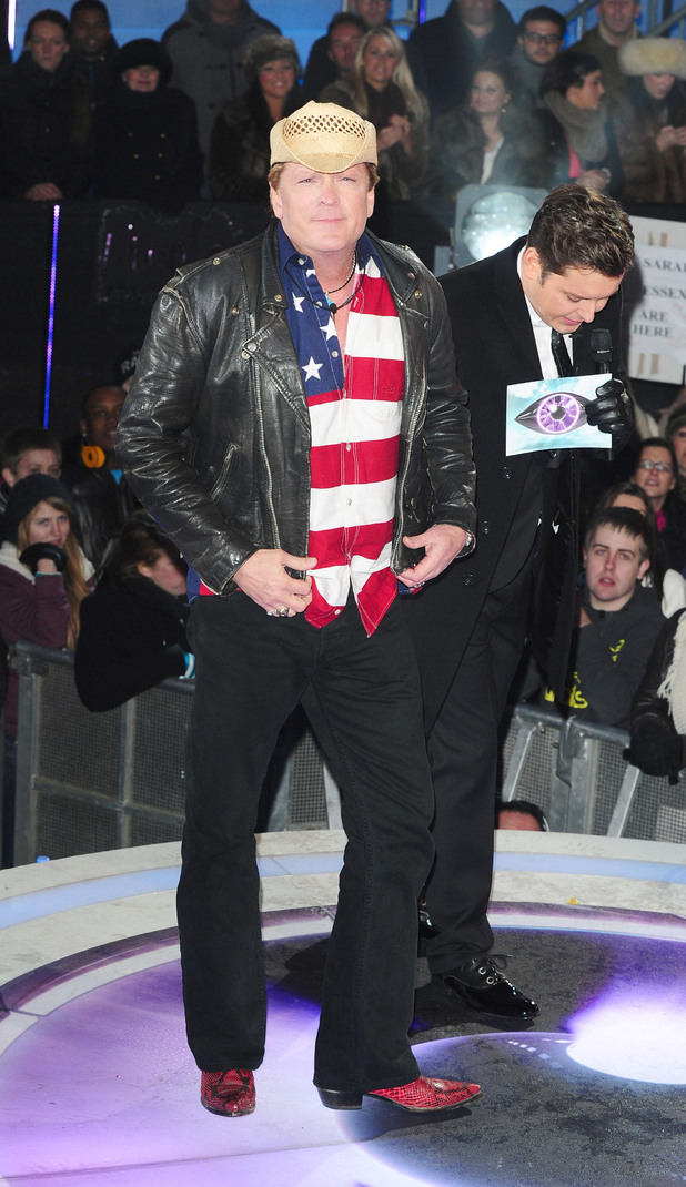 Michael Madsen is the second celebrity to enter the Big Brother House