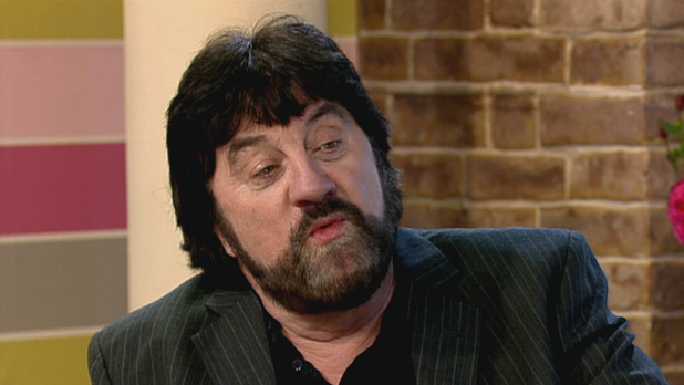 Steve Halliwell who plays Zac Dingle in TV soap Emmerdale on 'This Morning' discussing the new dramatic story line.