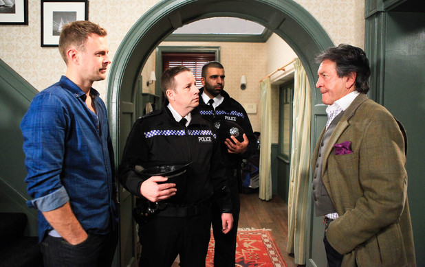 Things get bad for Rodney when the police arrive to question him over Carl's crime