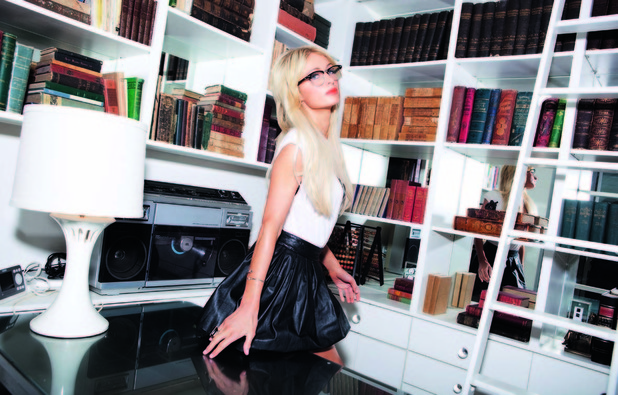 Paris Hilton features in the February issue of FHM