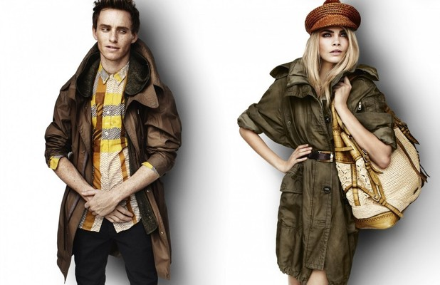 Eddie Redmayne and Cara Delevingne