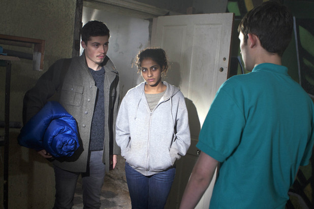 Hollyoaks: Year in pictures 2012