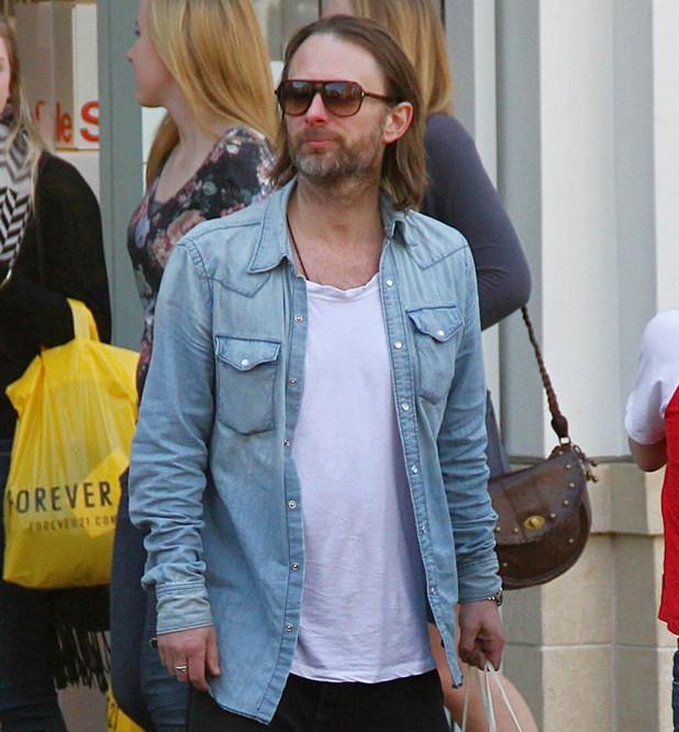 Thom Yorke Los Angeles