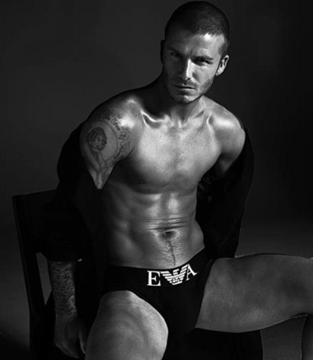 David Beckham, Emporio Armani