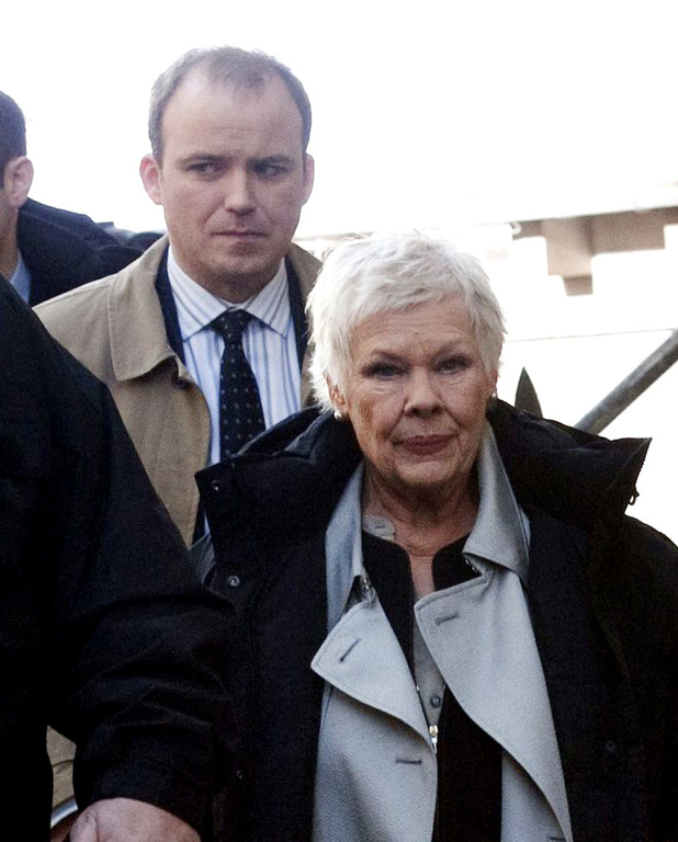 Judi Dench and Rory Kinnear