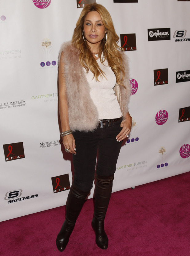 Faye Resnick attends the Best in Drag show at The Orpheum Theatre on Sunday, Oct. 7, 2012, in Los Angeles.