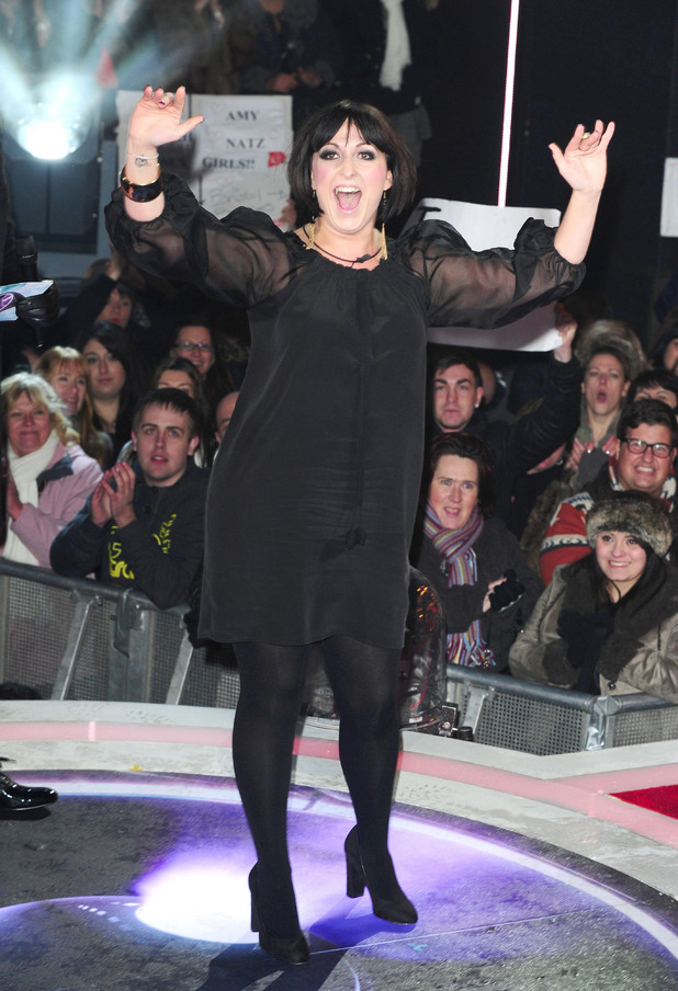 Natalie Cassidy is the first celebrity to enter the Big Brother House
