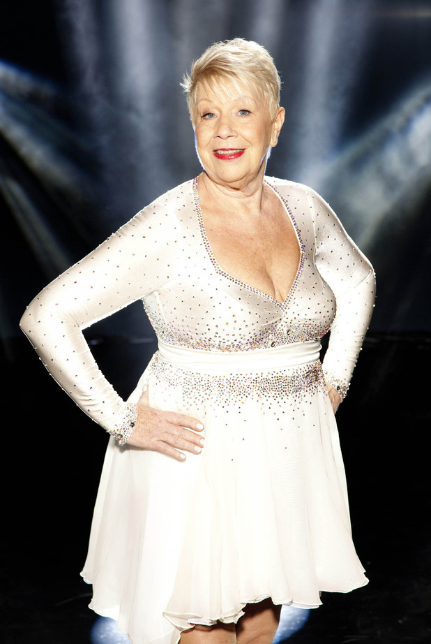 Actress Laila Morse
