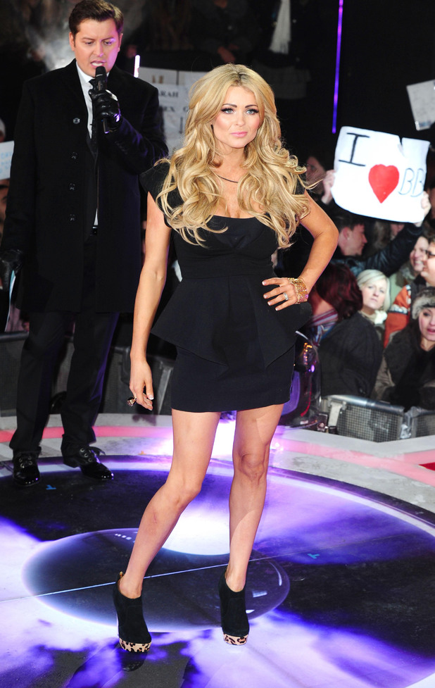 Nicola McLean is the seventh celebrity to enter the Big Brother House