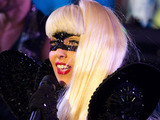 Lady Gaga performs in Times Square during the New Year&#39;s Eve celebration