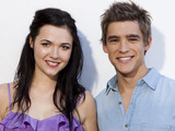 Demi Harman (Sasha Bezmel, Home and Away) with Brenton Thwaites (Stu Henderson, Home and Away)