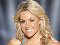Ski champion Chemmy Alcott dismisses suggestions that she is likely to win the show.