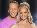 Jennifer Ellison says that she won't skate if her pro partner fails fitness tests.