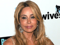 Unknown suspect is accused of leaving threatening letter at Faye Resnick's home.