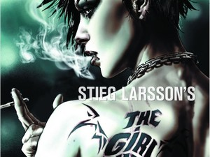 Girl With The Dragon Tattoo Graphic Novel Art