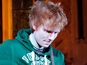 British Male Solo Artist Nominees: Ed Sheeran performing at the Absolute Radio Christmas Sessions