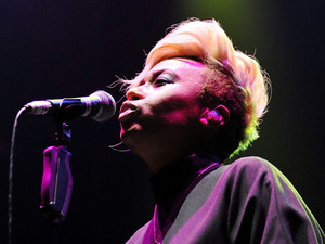 British Breakthrough Act: Emeli Sande, perform in support of Coldplay, at The O2 Arena, Greenwich
