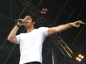 British Single: Example performing at Party in the Park Leeds