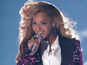 International Female Solo Artist: Beyonce performs at the MTV Video Music Awards