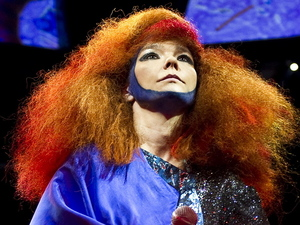 International Female Solo Artist: Bjork performing live at Campfield Market Hall