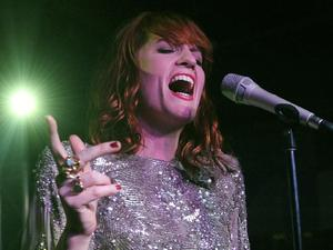 British Female Solo Artist Nominees: Florence + The Machine performs at the Official Bing Bar After-Party at the 2011 Sundance Film Festival