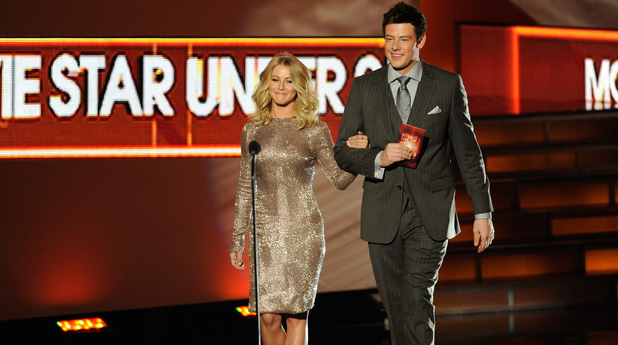 Julianne Hough and Corey Monteith