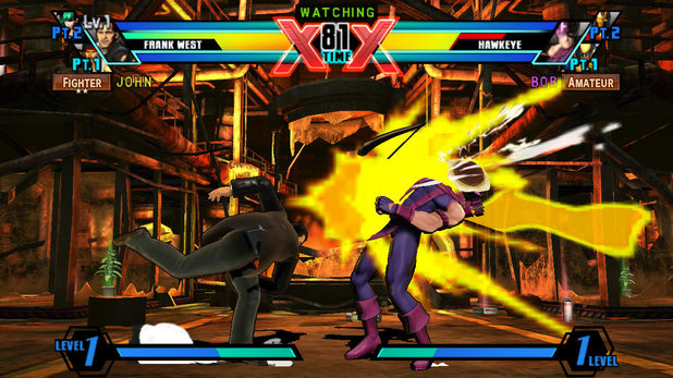 'Ultimate Marvel vs Capcom 3' screenshot