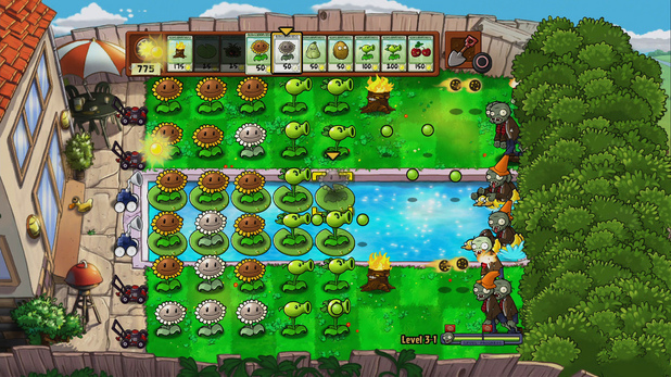 'Plants Vs Zombies' screenshot