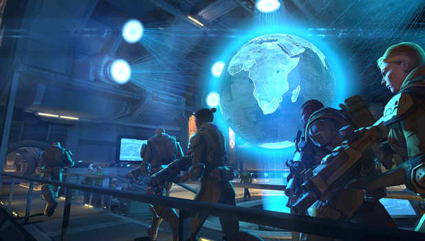 XCOM: Enemy Unknown - Mission Control