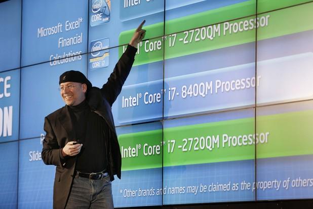 Intel's Mooly Eden unveils 'gesture-control' laptops