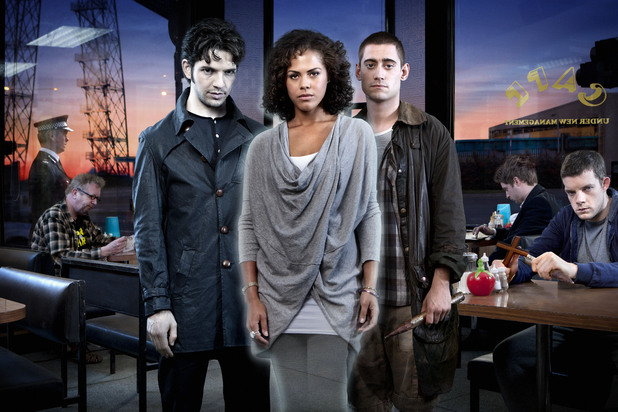 Griffin (Alex Griffin), Regus (Mark Williams), Hal (Damien Molony), Annie (Lenora Crichlow), Tom (Michael Socha), Cutler (Andrew Gower), George (Russell Tovey)