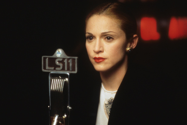Madonna as Eva Peron
