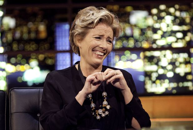 Emma Thompson appears on 'The Jonathan Ross Show'