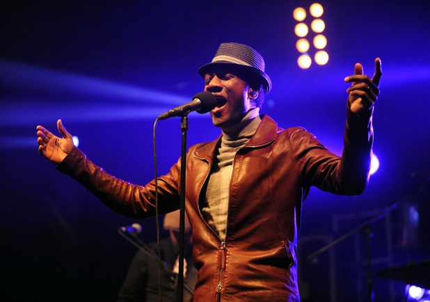International Male Solo Artist: Aloe Blacc performs on stage at the Big Chill Festival 2011