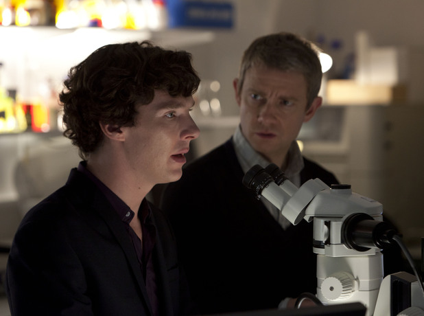 Sherlock S02E03: &#39;The Reichenbach Fall&#39;