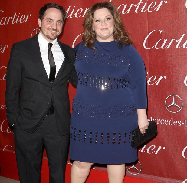 Melissa McCarthy with Husband  Ben Falcone