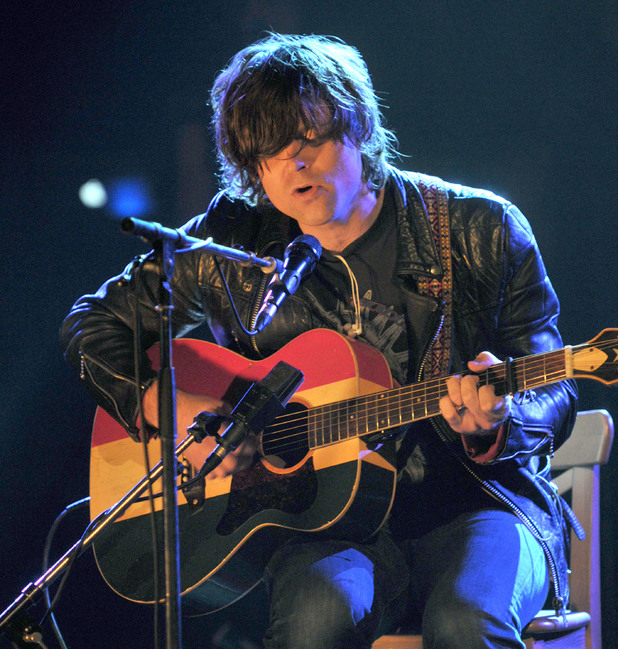 International Male Solo Artist: Ryan Adams performing on 'Later With Jools Holland'