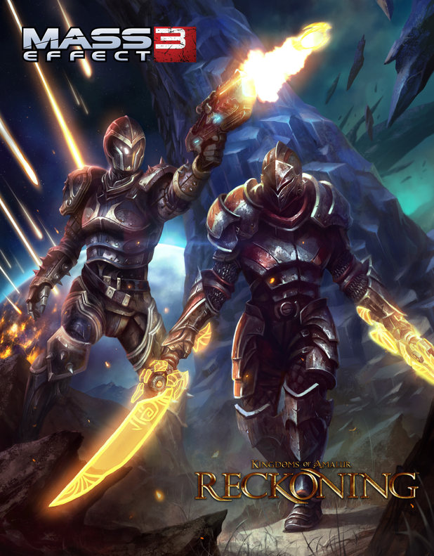 Mass Effect 3 Kingdoms of Amalur: Reckoning cross-promotion