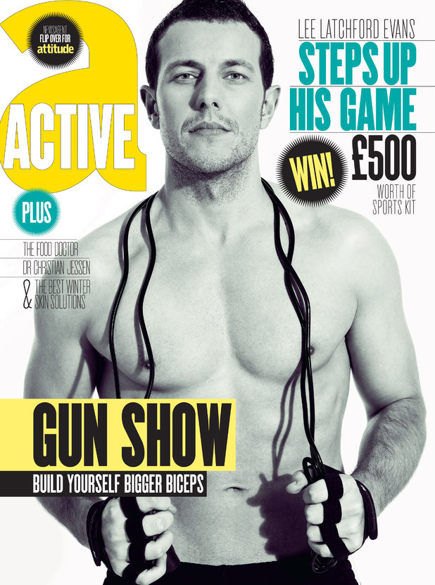 Attitude Active magazine February 2012 Cover