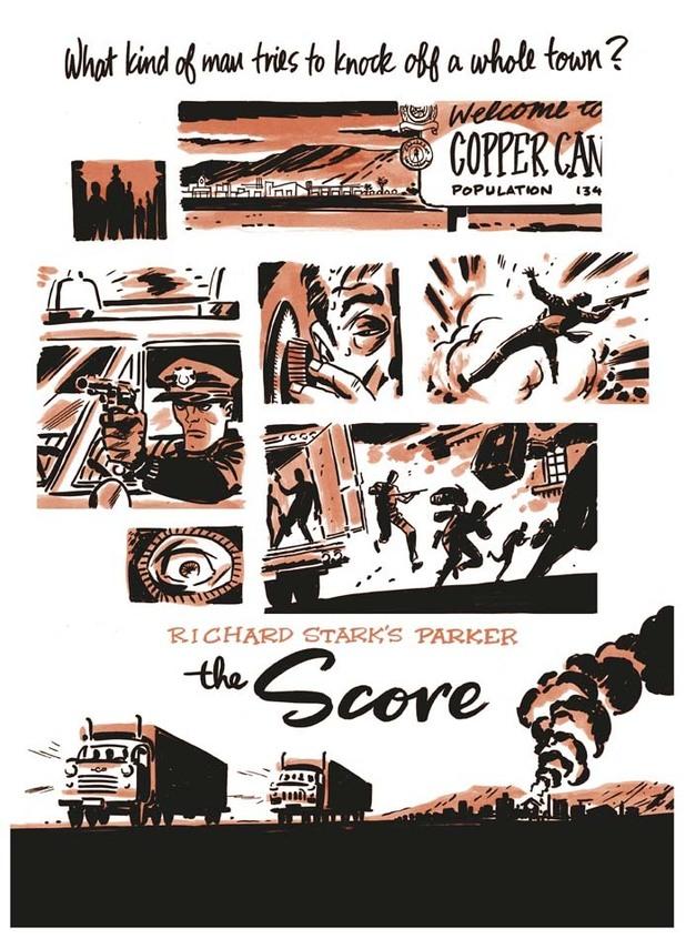Darwyn Cooke's 'Parker: The Score'