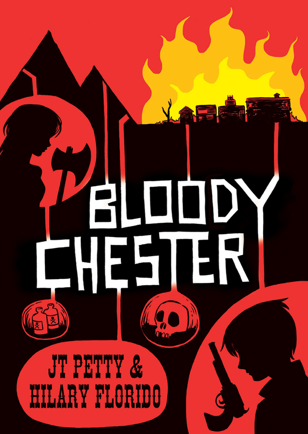 First Second's 'Bloody Chester' cover