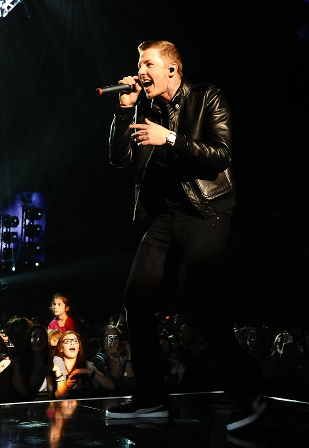British Male Solo Artist Nominees: Professor Green performing during T4's Stars of 2011 event, at Earls Court, London