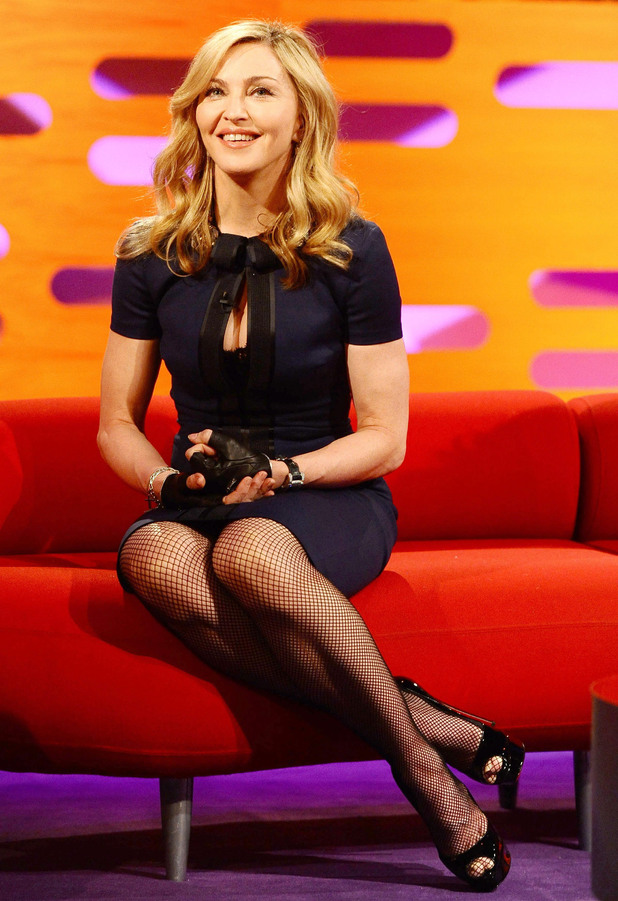 Madonna, Graham Norton