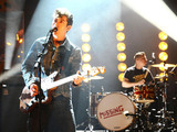 British Group: The Arctic Monkeys perform during the filming of the Graham Norton Show at The London Studios
