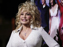 Dolly Parton proves that a rose tattoo on her cleavage was fake.