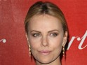 "Charlize Theron says that she loves ""swaddling"" her new son Jackson."